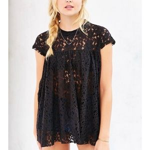 Urban Outfitters Kimchi Blue Lace Baby Doll Top